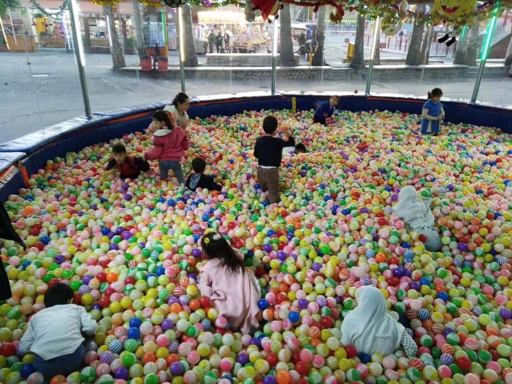 اردوی یک روزه پارک ارم، برای کودکان جامعه نابینایان البرز